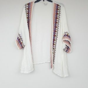 Merona Embroidered Top